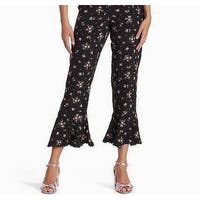 Free People Black Women's Size XS Capris Cropped Stretch Pants