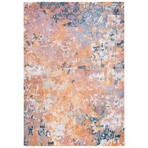 Safavieh Crystal Dorrit Modern Abstract Distressed Rug