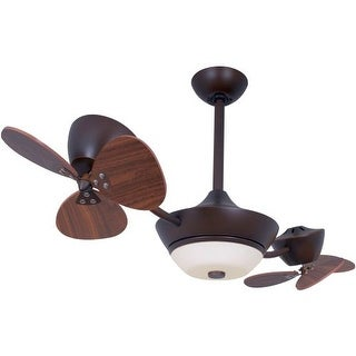 "Vaxcel Lighting F0019 Eclipse II 42"" 6 Blade DC Motor Indoor Ceiling Fan - Remote Control, Light Kit and Blades Included"