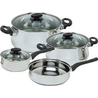 Magefesa 01BXDELIS07 Deliss Stainless Steel 7 Piece Cookware Set