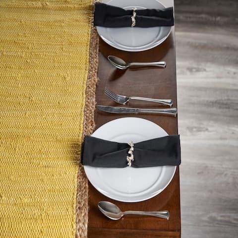LR Home Bordered Table Runner