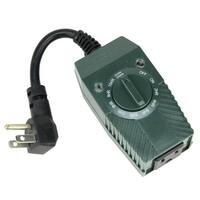 Stanley LightTimer Select Twin 1-Outlet Light-Sensing Countdown Timer