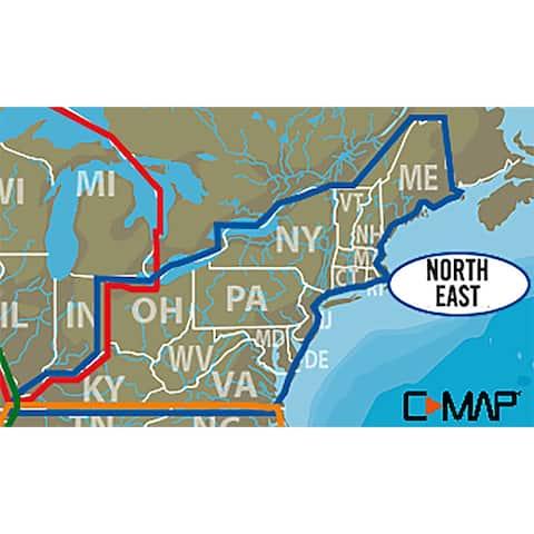 Lowrance c-map lake insight hd northeast us 000-13728-001