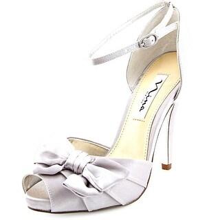 Nina Electra Women Open Toe Canvas Sandals
