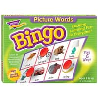 (3 Ea) Bingo Picture Words Ages 5 & Up