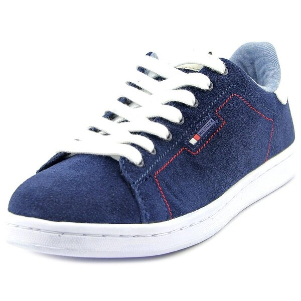 Tommy Hilfiger Suzane2 Women Round Toe Suede Blue Sneakers