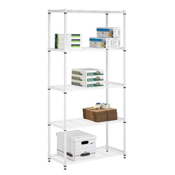 Knowledgeable 6 Tier Shelving Unit Steel Shelf Rack Workshop Garage Storage Adjustable Shelves Home & Garden