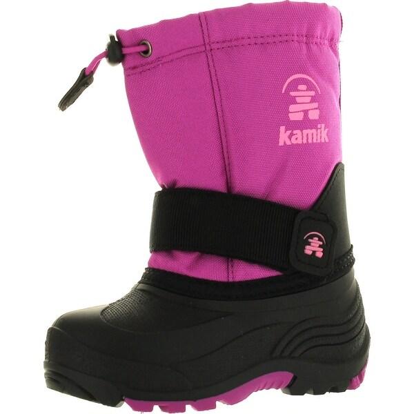 Kamik Rocket Kids Boys Cold Waterproof Weather Boots