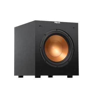 Klipsch R-10SW Brushed Black Vinyl 10 Inch Subwoofer|https://ak1.ostkcdn.com/images/products/is/images/direct/ebe7178be5ff17f9fa4efeb4a3312ab05272668c/Klipsch-R-10SW-Brushed-Black-Vinyl-10-Inch-Subwoofer.jpg?impolicy=medium
