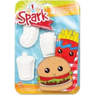 Spark Plaster Magnet Kit-Junk Food - junk food