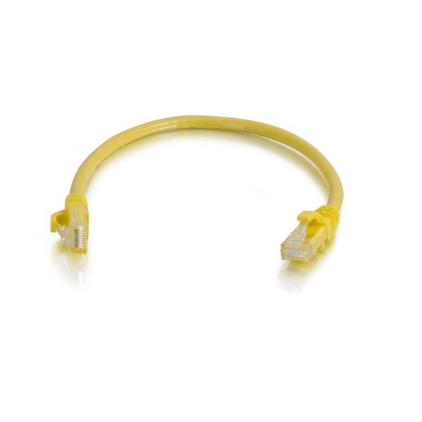 C2g 15191 5Ft Cat5e Snagless Unshielded Utp Network Patch Ethernet Cable - Yellow