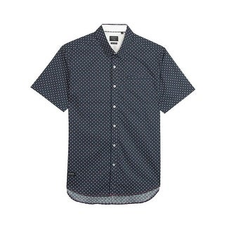 7 Diamonds Dawn Shirt in Navy