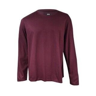 Alfani Men's Printed Long-Sleeve Sweater (XXL, Port Combo) - Port Combo - XXL