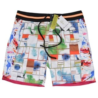Robert Graham Men's Classic Fit FUN SHIPS Board Shorts Swim Trunks