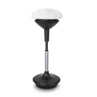 "Vifah A80 Autonomous Smart Office 13-1/2"" Wide Adjustable Office Stool - Light Gray"