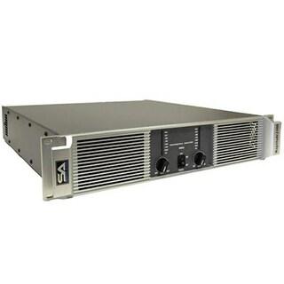 Seismic Audio Power Amplifier 800 Watts RMS a Channel @ 8 Ohms 1600 @ 2 Ohms Amp