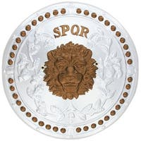 Roman Shield Adult Costume Accessory - Gold