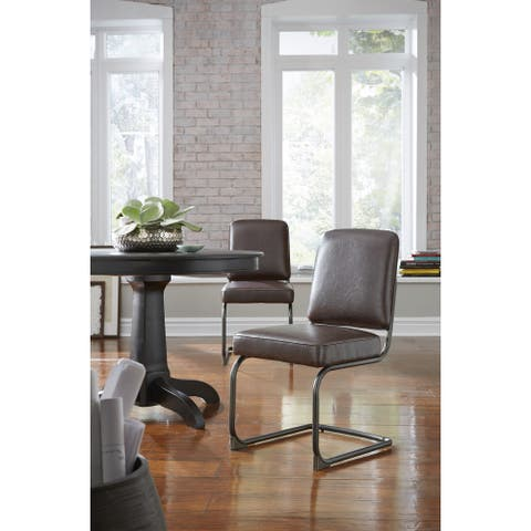 State Breuer-style Dining Chair in Chocolate (Set of 2)