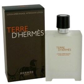 Terre D'Hermes by Hermes After Shave Lotion 3.4 oz - Men