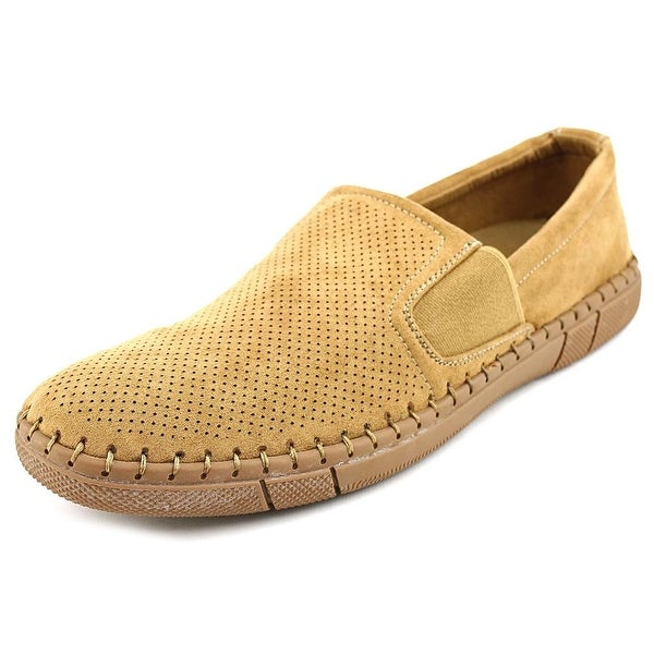Robert Wayne Roads Men Round Toe Canvas Loafer