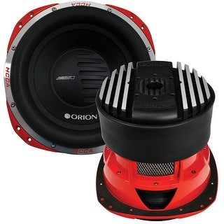 """Orion HCCA 10"""" Woofer Dual 2 Ohm Voice Coil 2000W RMS"""