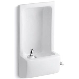Kohler K-5293 Glenbrook Semi-Recessed Drinking Fountain - White - N/A