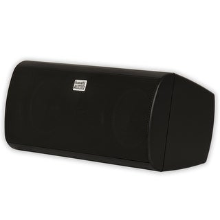Acoustic Audio AA35CB Indoor 3 Way Center Speaker 400 Watts Black Bookshelf