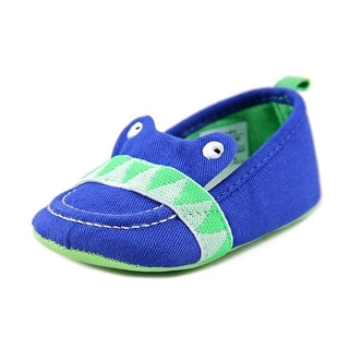 Rosie Pope I See You Infant Round Toe Canvas Blue Loafer