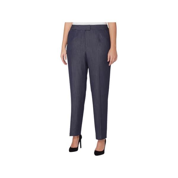 02c933c706f Shop Tahari ASL Womens Plus Dress Pants Flat Front Modern Fit - Free  Shipping Today - Overstock.com - 22613898