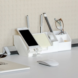 Link to Bostitch Konnect Desk Organizer & Cable Management Kit, 5 Piece Similar Items in Storage & Organization