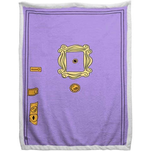 Friends 60X90 Sherpa Back Blanket