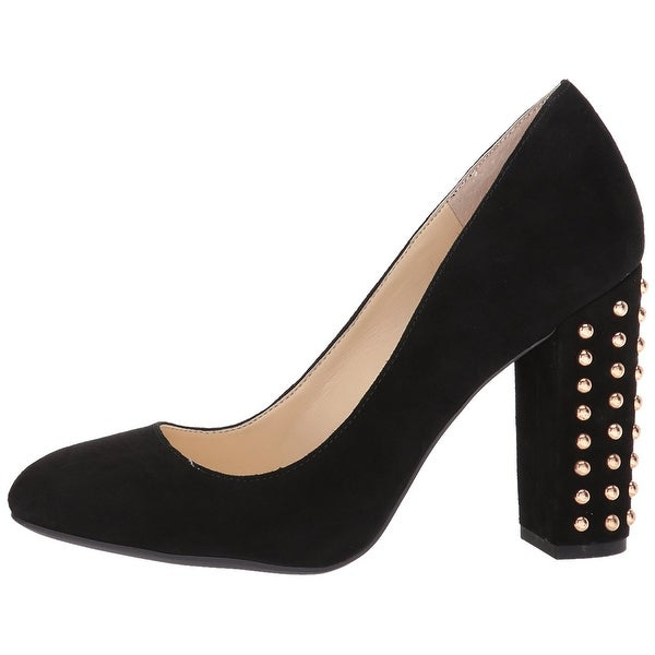 Jessica Simpson Womens bainer Suede Closed Toe Classic Pumps