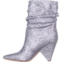 Guess Womens Nakitta Pointed Toe Mid-Calf Fashion Boots