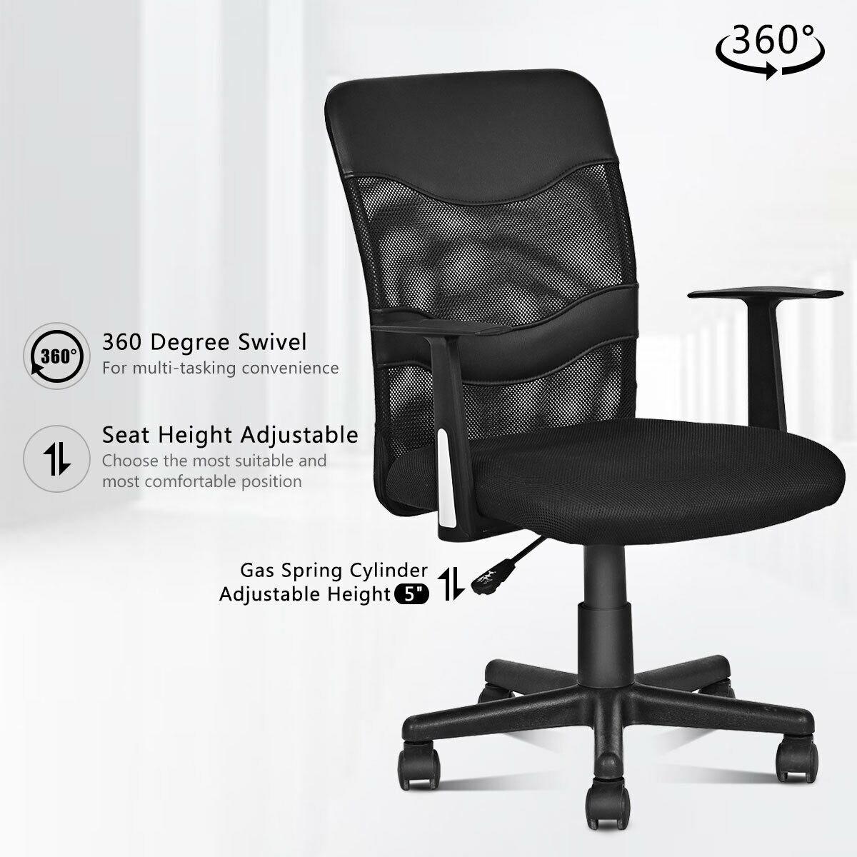 Office Furniture Ergonomic 360 Mesh Office Adjustable Chair High Back Computer Desks Seats Chair Business Office Industrial Limebuildinggroup Com Au
