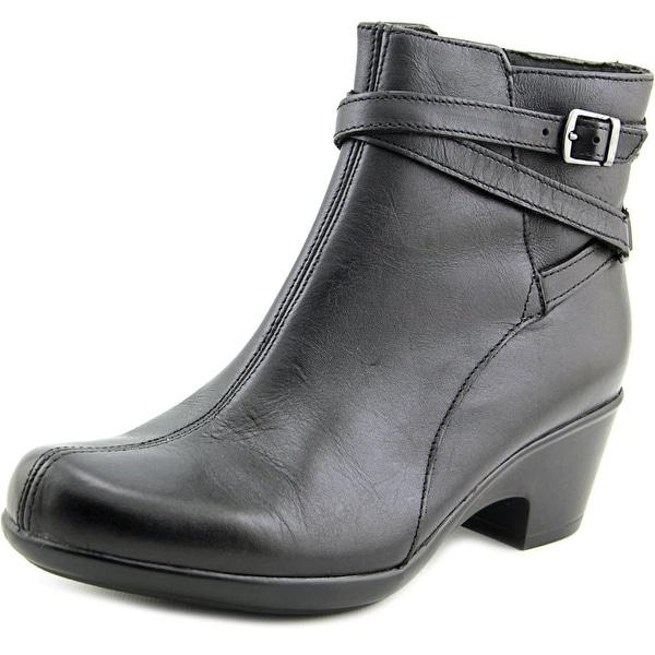 Clarks Narrative Malia Meara Women Black Boots