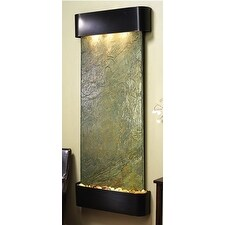 Adagio Inspiration Falls Wall Fountain Green Solid Slate Blackened Copper - IFR1