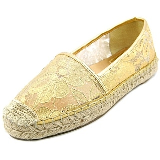 Marc Fisher Palmer 3 Round Toe Synthetic Espadrille