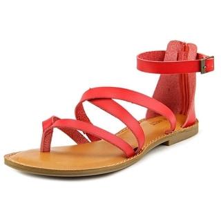 Nine West Jessaboo Open Toe Synthetic Gladiator Sandal