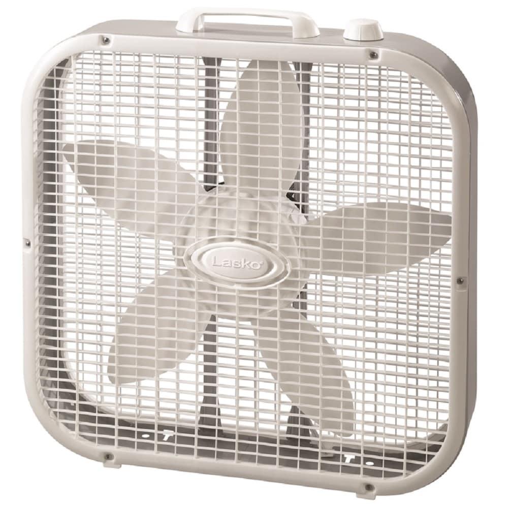 Lasko 3733 Electric Box Fan, 3 Speed - Thumbnail 0