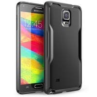 SUPCASE Galaxy Note 4 Case - Unicorn Beetle Series Premium Hybrid Bumper Case - Black Black
