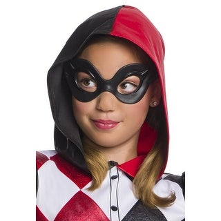 DC Superhero Girls Harley Quinn Child's Costume Mask - Multi