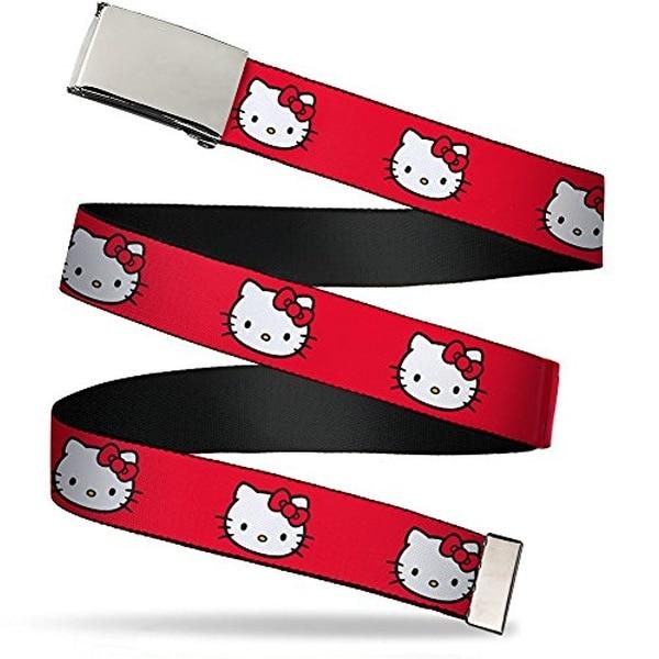 """Buckle-Down Web Belt Hello Kitty 1.25"""""""