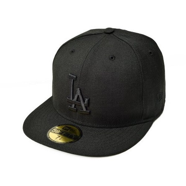 info for 4f12b a1904 Mlb Los Angeles Dodgers 59Fifty Fitted Cap - Black