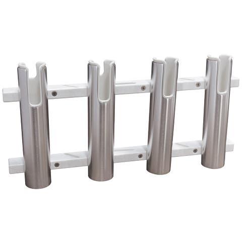 Taco aluminum/poly 4 rod holder rack