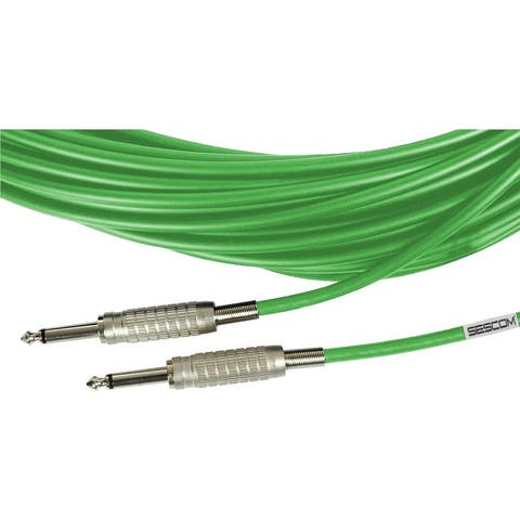 Sescom BSC15SS Audio Cable Belden Star-Quad 1/4 Inch TS Male to Male