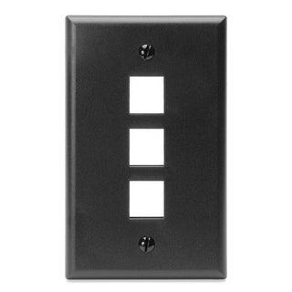 Link to 3 Port Standard Plate Black Similar Items in Computer Accessories