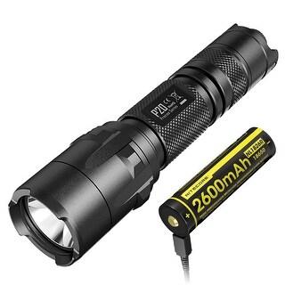 NITECORE P20 Precise Series 800 Lumen Strobe Ready Tactical Flashlight w/ USB Rechargeable Battery