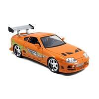 Fast & Furious 1:18 Diecast Vehicle: Orange Toyota Supra - Multi