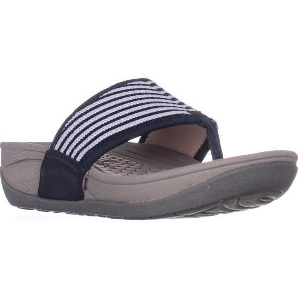 BareTraps Dasie Platform Rebound Sandals, Navy