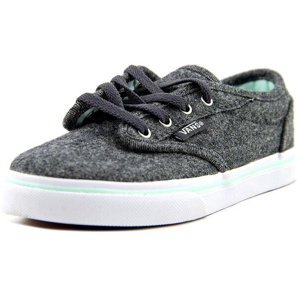 Vans Atwood Low Youth  Round Toe Canvas Gray Sneakers